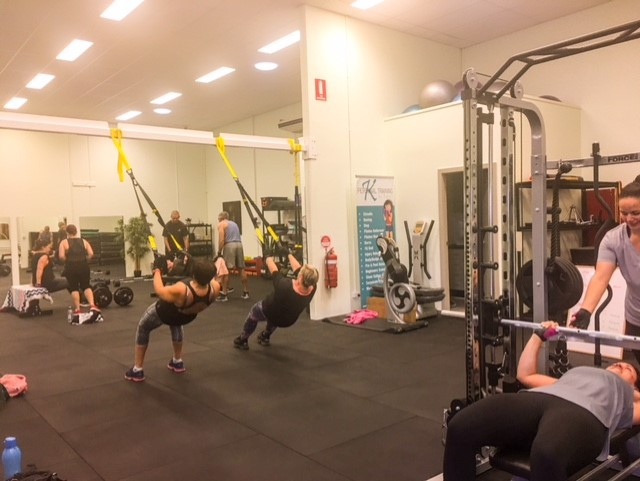 TRX session
